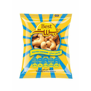 Best Cashews Pouch 50g