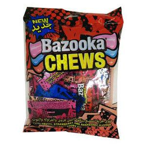 Bazooka Mini Chews Bar Soft Candy 120g