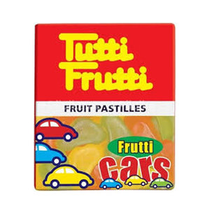 Leaf Tutti Fruits Cares Jelly Cars 18g