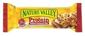 Nature Valley Protein Bar Salted Caramel And Nuts Box 40g