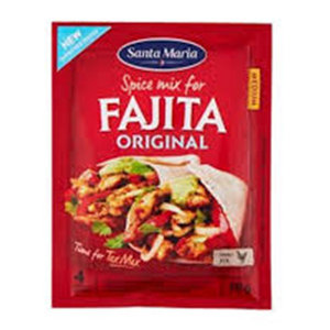 Santa Maria Fajita Original Spice Mix 28g