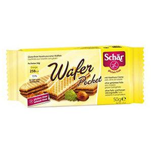 Schar Wafer Pockets Hazelnut 50g