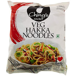 Ching's Veg Hakka Noodles 600g