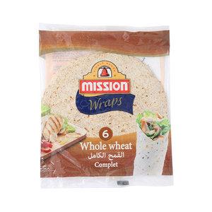 Mission Whole Wheat Wraps 6s