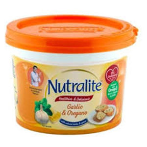 Garlic & Oregano Fat Spread Nutralite 250g
