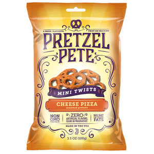 Pretzel Pete Mini Twist Cheeze Pizza 100g