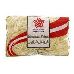 Schaub French Fries 2.5kg