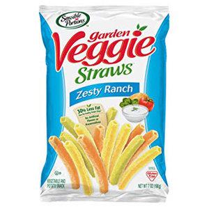 Sensible Portions Garden Veggie Straws Zesty Ranch 30g