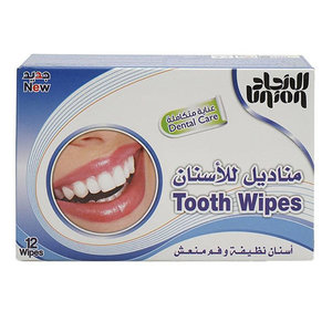 Sharjah Tooth Wipes 12s