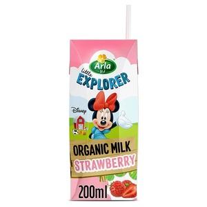 Arla Disney Organic Milk Strawberry 200ml