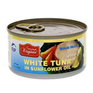 Virginia Tuna Light Meat Sold In Sunflower Oil 200g