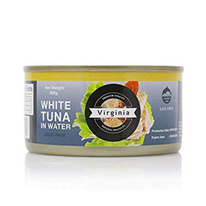Virginia Tuna White Meat Sold In Water 200g