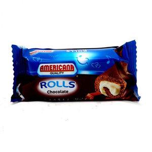 Americana Mini Roll Chocolate 20g