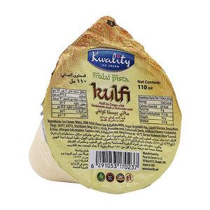 Kwality Ice Cream Pista Kulfi Cone 110ml