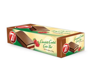 Almarai 7days Enrobed Cake Bar Strawberry 400g