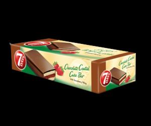 Almarai 7Days Enrobed Cake Bar Strawberry 400g
