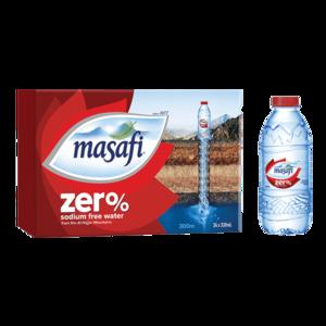 Masafi Zero Natural Water Sodium Free Water Carton 24x330ml