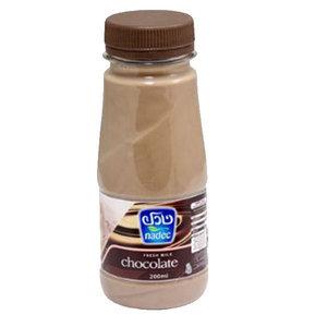 Nadec Fresh Choco Flavoured Milk 200ml