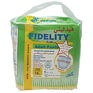Fidelity Adult Diapers Large