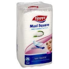 Cotton Soft Maxi Square Make Up Pads 50s