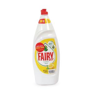 Fairy Lemon Dish Washing Liquid Soap 1.35L