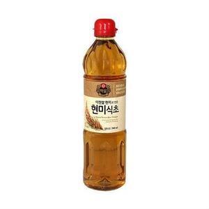 Cj Brown Rice Vinegar 900ml