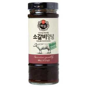 Cj Korean Bbq Sauce Galbi Marinade 840g