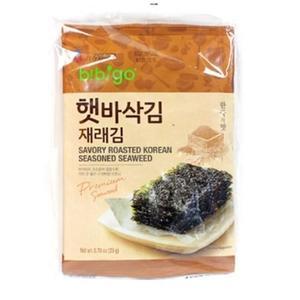 Cj Seasoned Seaweed Whole 4x20g