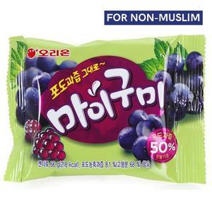 My Gummy Jelly Grape 66g