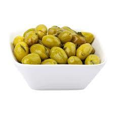 Jordan Green Olive With Oil 250g