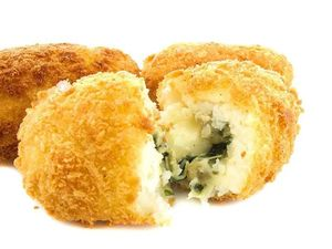 Spinach & Cheese Croquette Frozen 8pcs