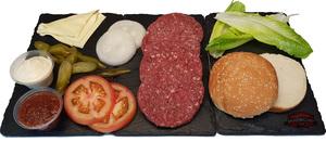 Australian Cheese Burger Party Set 4sets