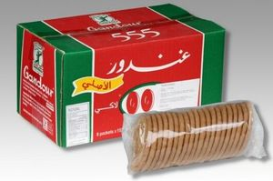 Ghandour Lucky 555 Biscuits 8pcs