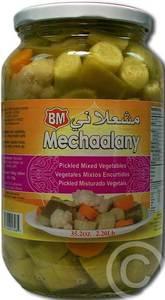 Pickled Mixed Vegetables Jar 600g