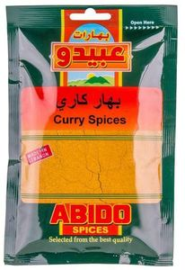 Abido Mild Curry Spice 50g