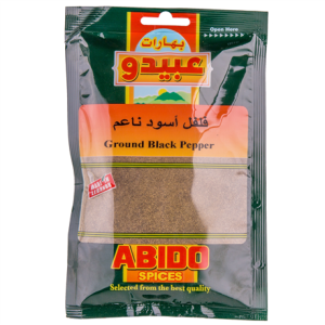 Abido Black Pepper 50g
