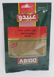 Abido Beef Escalope Spice 50g