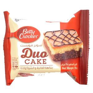 Betty Crocker Duo Cake Strawberry 35g