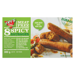 Frys Family Meat Free Spicy Sausages 380g