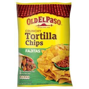 Old El Paso Tortilla Chips Fajita 185g