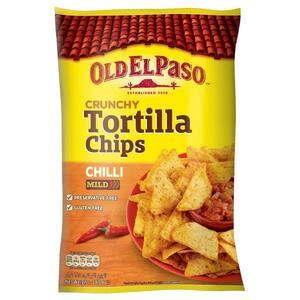 Old El Paso Tortilla Chips Chilli 185g