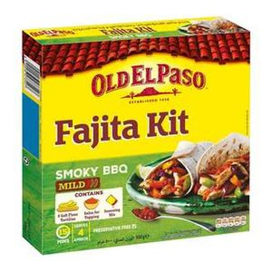 Old El Paso Bbq Fajita Kit 500g