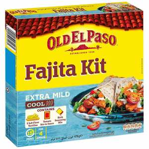 Old El Paso Mild Fajita Kit 476g