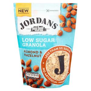 Jordans Cereal Crunchy Almond & Hazelnut Low Sugar 500g