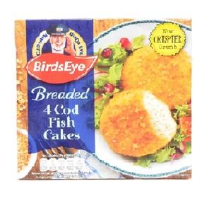 Birds Eye Cod Fish Cakes 198g
