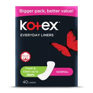 Kotex Liner Normal Unscented 40s