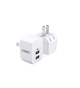 Heatz Home Charger 2 Port Lightning Zai 08 1pc