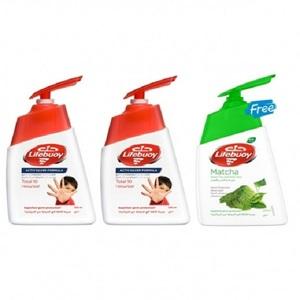 Lifebuoy Handwash Total 10 + Handwash Matcha 2x200ml+180ml