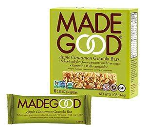 Made Good Granola Bar Apple Cinnamon 144g