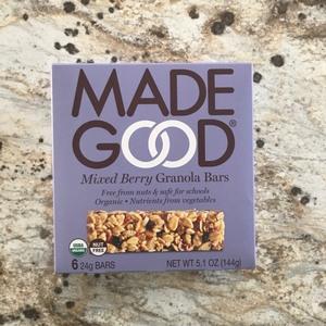 Made Good Granola Bar Mixed Berry 144g